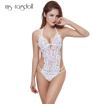 c7890c27e1f Hot New Sexy Lingerie Lace Sleepwear Pajamas Langerie Erotic Uniform Women s  Underwear Conjoined Dress Leotard Intimates