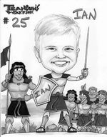 Teancum Warrior Caricature Offer
