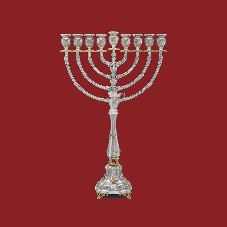 BELLAGIO RUZ BORMEO MENORAH SMALL