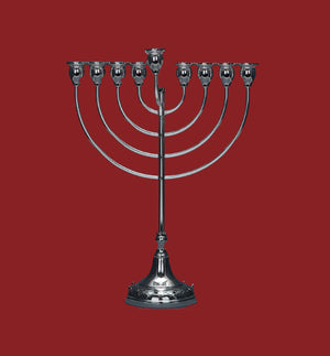 CHENTAROSA MEDIUM MENORAH