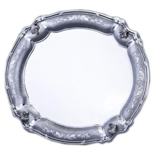Bellagio Decorated Sterling Silver Candlestick Tray