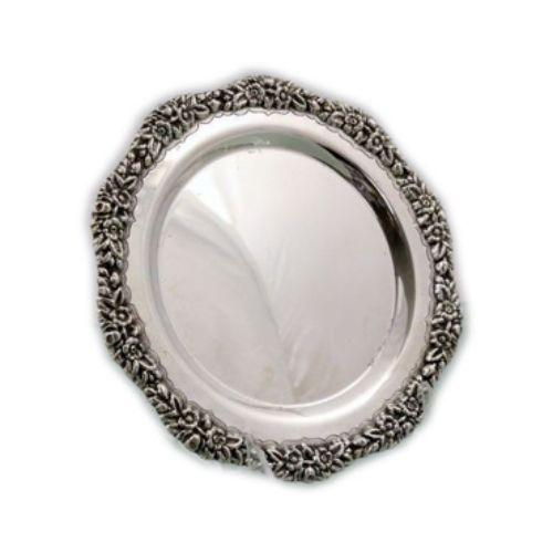 Daisy Sterling Silver Liquor Tray