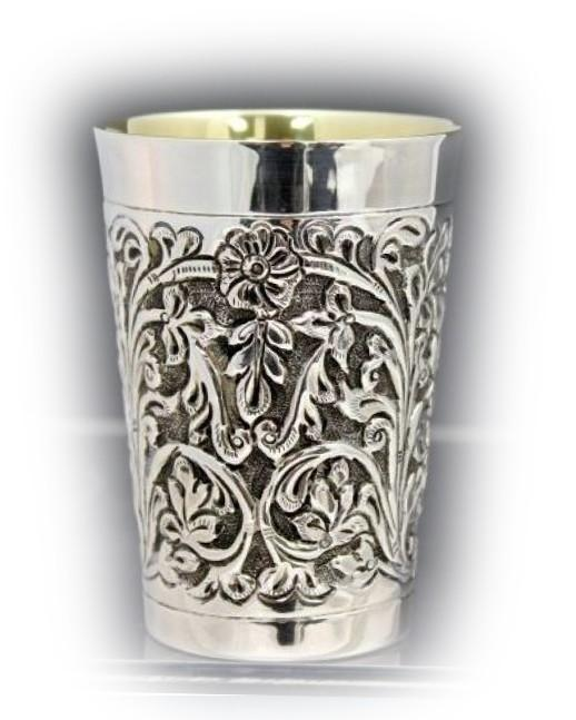 Hand Chased Belz Sterling Cup