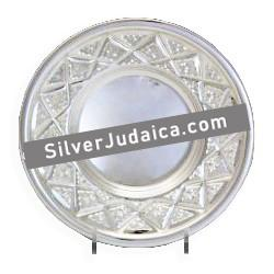 Diamond Engraved Sterling Coaster