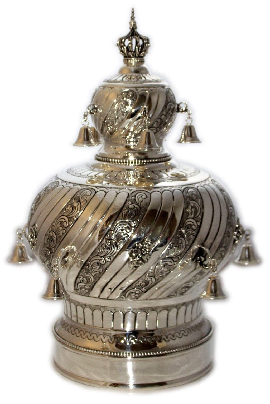 Chased London Sterling Torah Crown