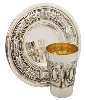 Shokolad Sterling Kiddush Set