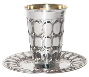 Orot Sterling Kiddush Set