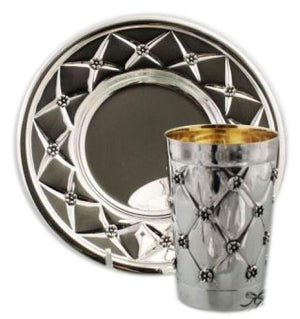 Heavy XP Sterling Kiddush Set 270