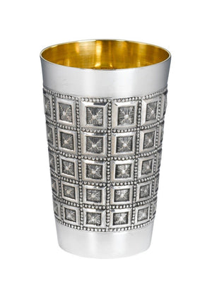 Heavy Choshen Sterling Kiddush Cup