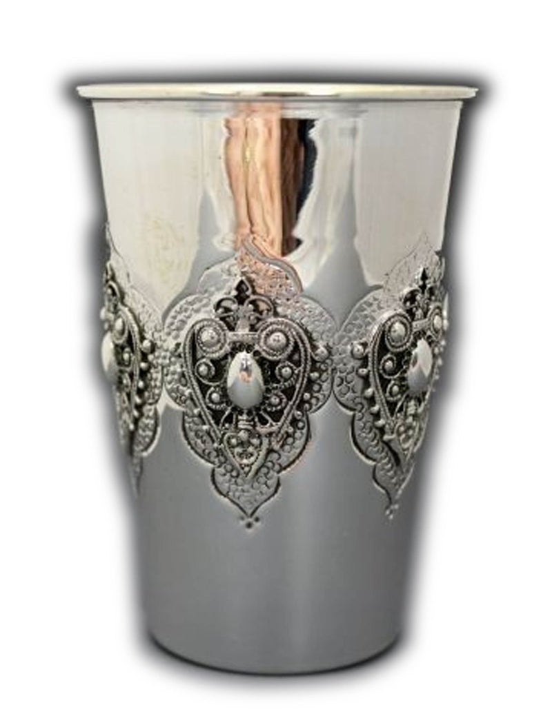 Yanshuf Filigree Sterling Cup
