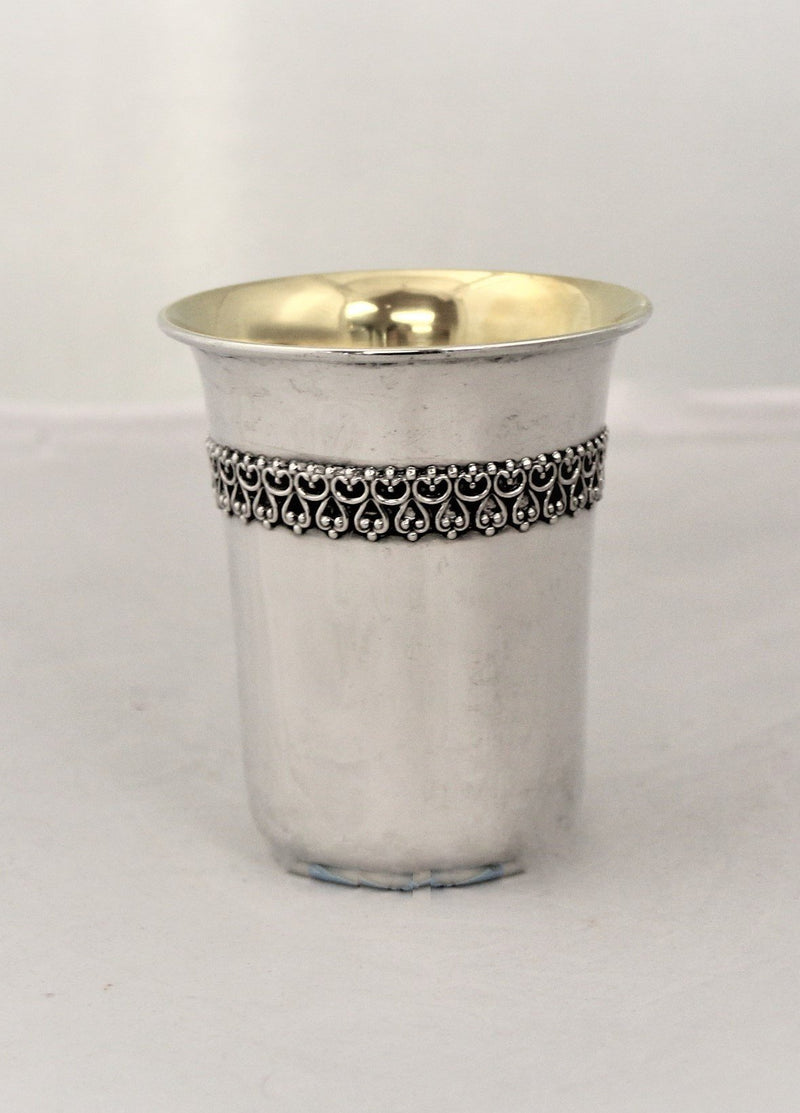 Chazon Ish Filigree Sterling Cup