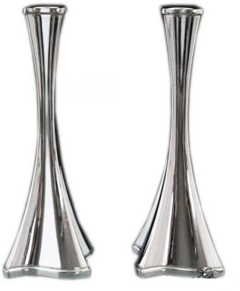 "Gal Chalak 9.5"" Sterling Candlesticks"