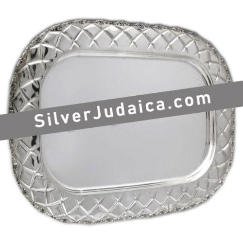 XP Sterling Silver Candlestick Tray