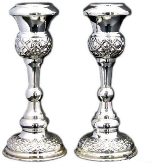 "Buot 5.75"" Sterling Candlesticks"