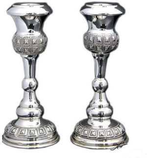 "Chosen 5.75"" Sterling Candlesticks"
