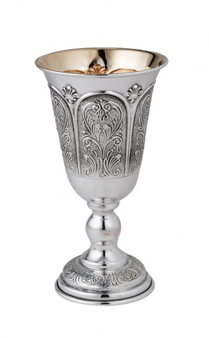 "Ben David 5"" Shearim Sterling Goblet"