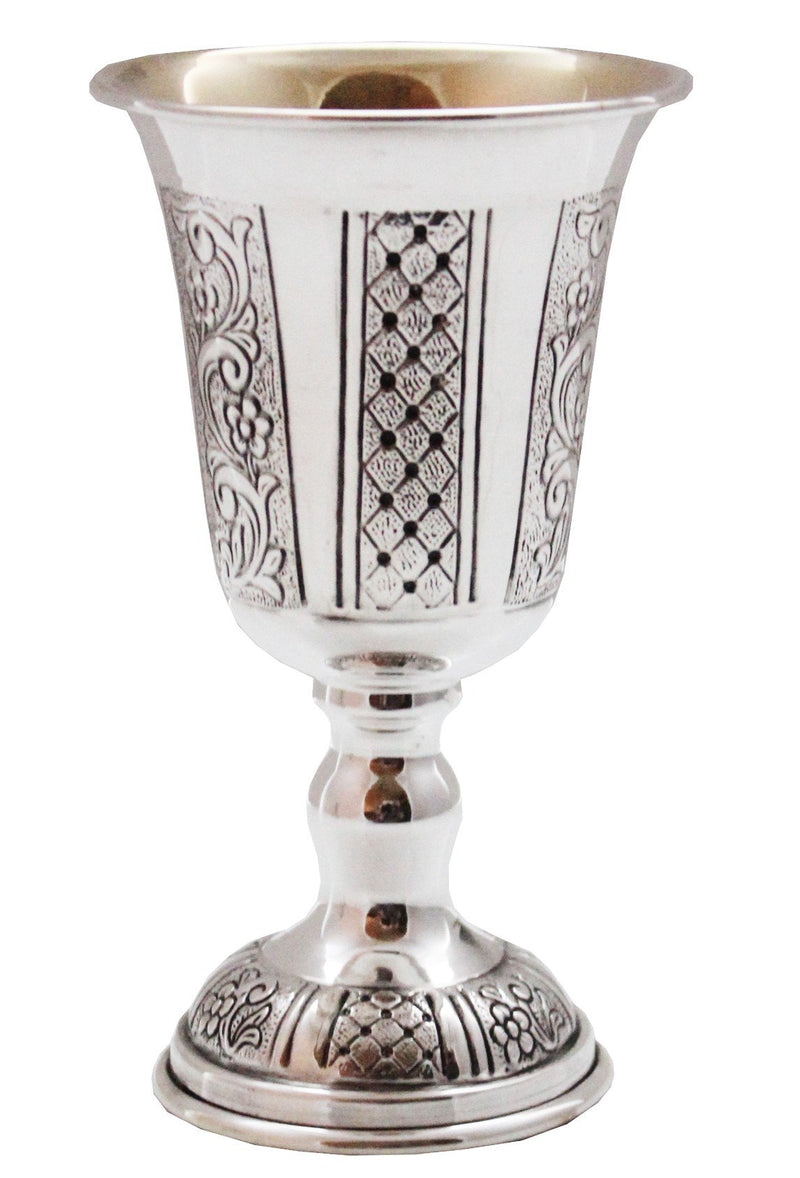 "Ben David 5"" Madlen Sterling Goblet"