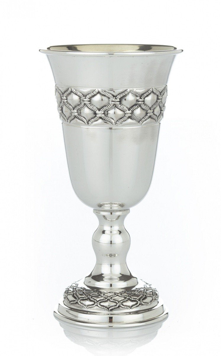 "Ben David 5.5"" Buot Sterling Goblet"