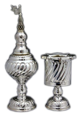 Passim Havdalah Sterling Candle Holder