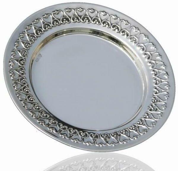Filigree Sterling Coaster 6400