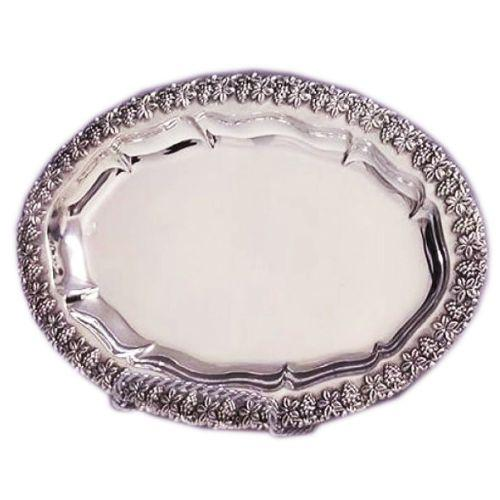 Grapes Sterling Silver Liquor Tray 100