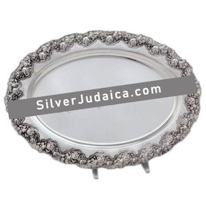 Patat Flowers Sterling Silver Liquor Tray