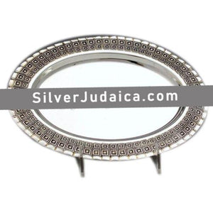 Choshen Sterling Silver Liquor Tray