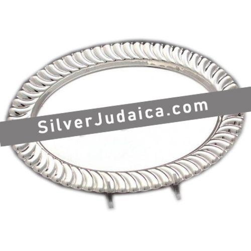 Lines Sterling Silver Liquor Tray