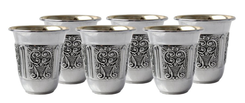Lugano Sterling Liquor Set of 6