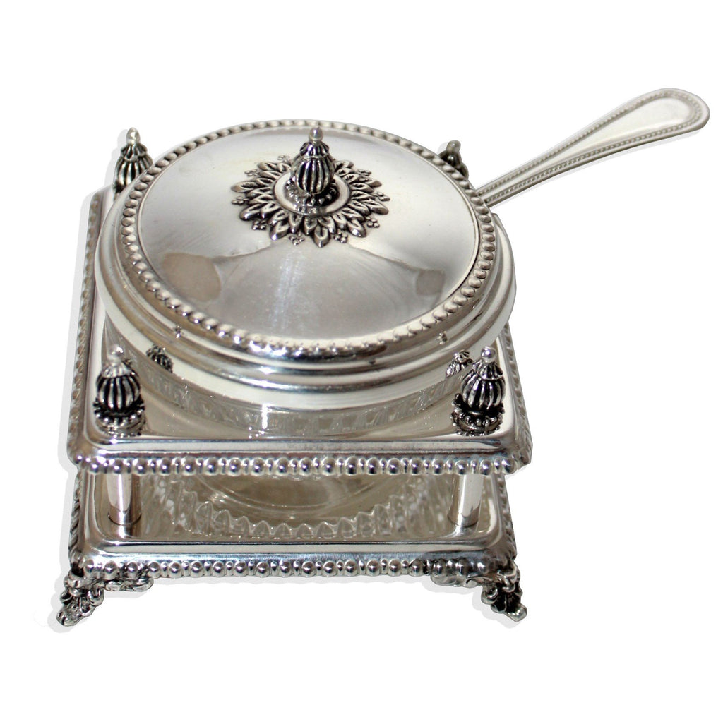Meruba Sterling Honey Dish