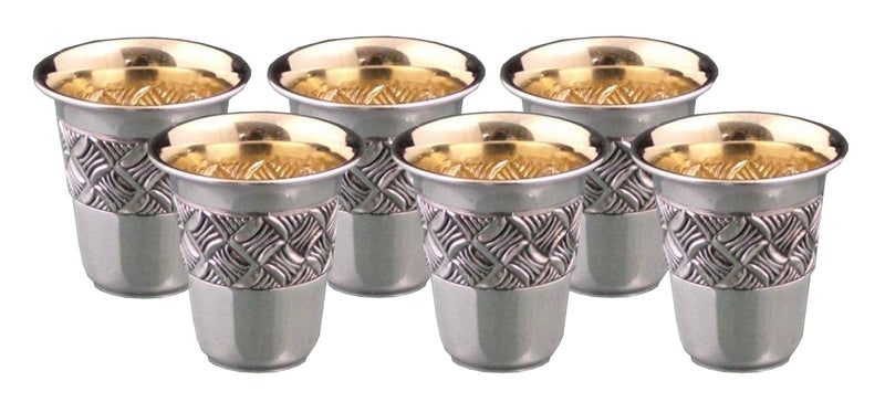 Chavalim Sterling Liquor-Set of 6