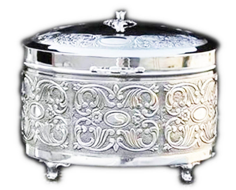 Damask Ayin Sterling Esrog Box