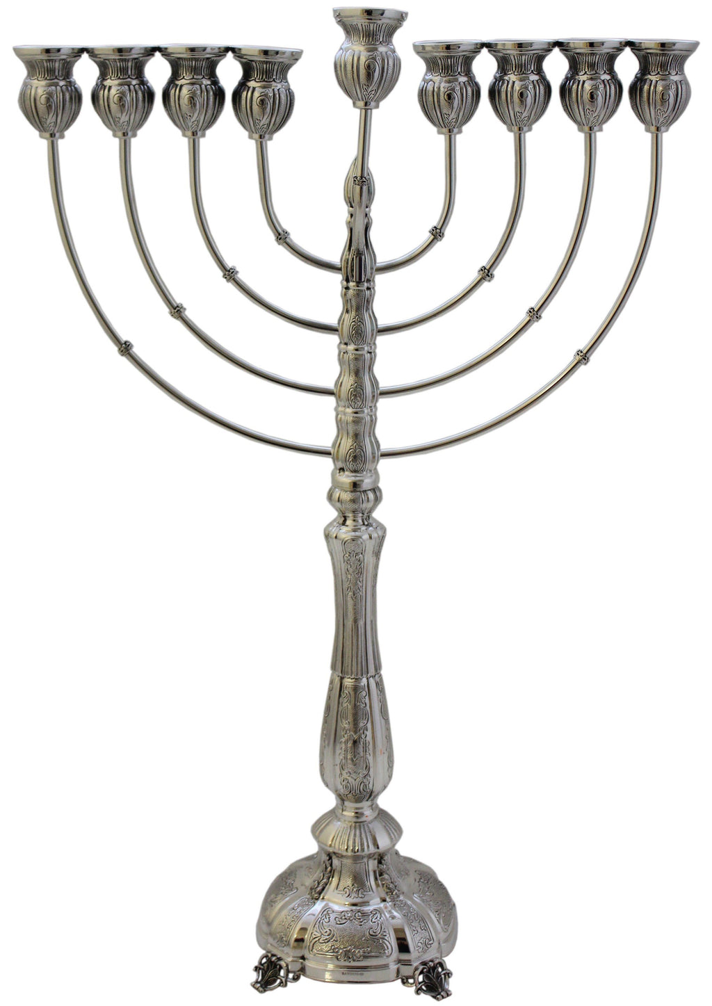 Small Ravena Passim Sterling Menorah