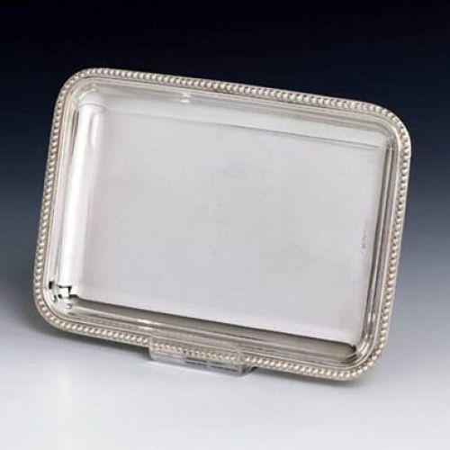 Pearls Sterling Silver Liquor Tray