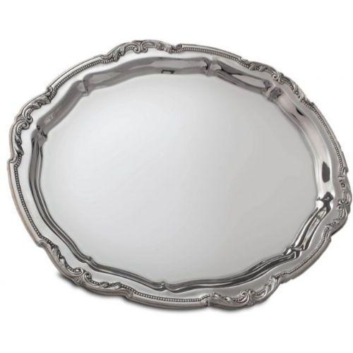 Universal Sterling Silver Candlestick Tray with Narrow Border