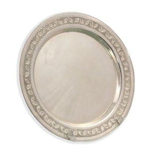 Diamond Engraved Sterling Silver Liquor Tray