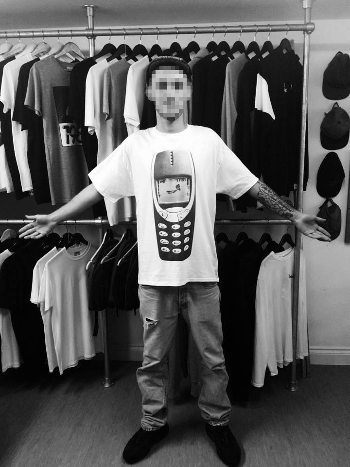 Pear Shaped Nokia Tee