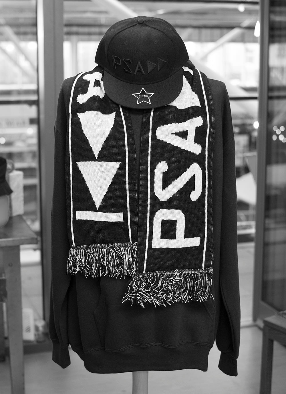 Matchday Scarf Pear Shaped PSA Brighton Clothing