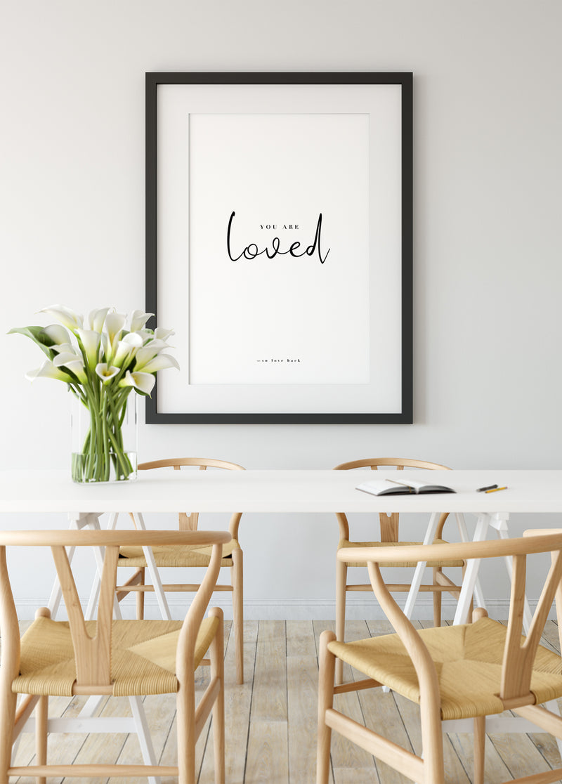 You are loved - Christian poster
