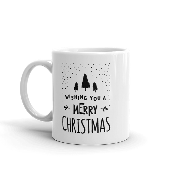 Wishing you a Merry Christmas Cup