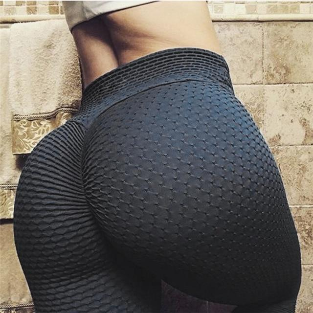 Textured Push Up Leggings