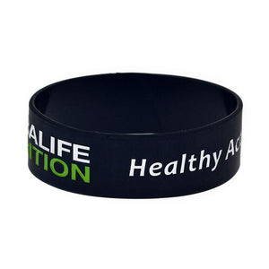 """Healthy Active Lifestyle"" Wristband"