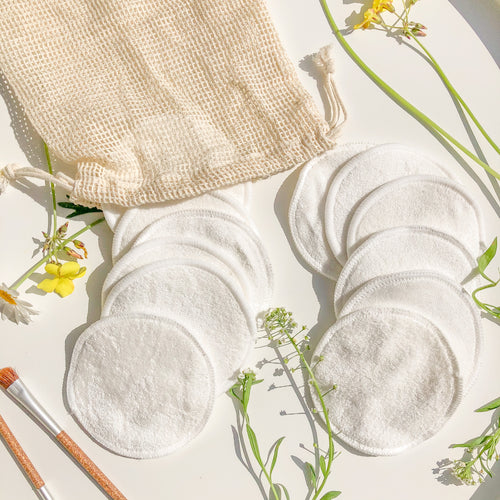 Reusable Facial Cotton Pads (Pack of 12)