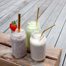 Load image into Gallery viewer, Metal Straw Set with pouch