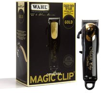 Load image into Gallery viewer, Wahl 5‑Star Magic Clip Cordless Fade ClipperLimited Edition Black & Gold