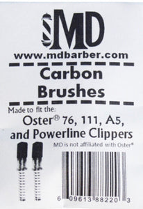 MD Barber Carbon Brush Assembly (111, A5, 76, Titan)