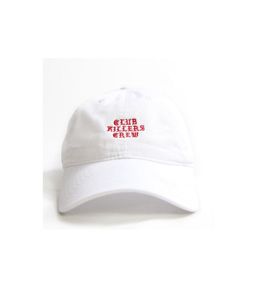 CLUB KILLERS - WHITE DAD HAT