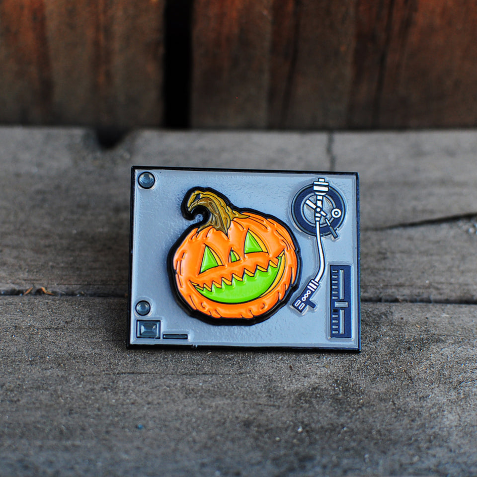 Spooky Turntable Pin