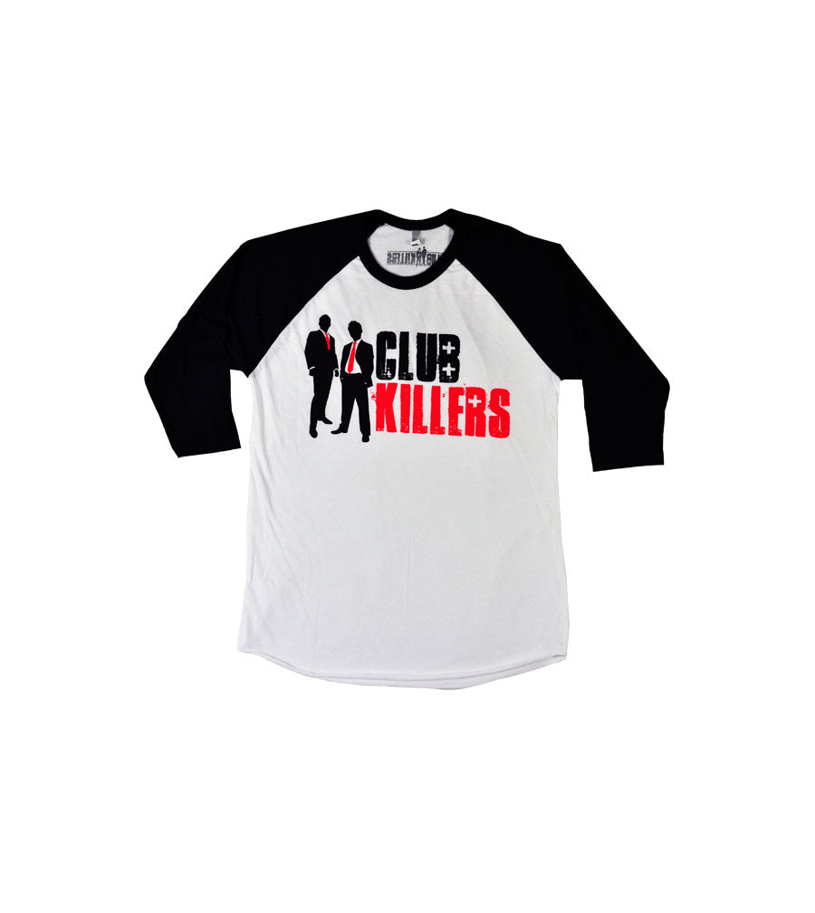 Club Killer Black Sleeve Raglan