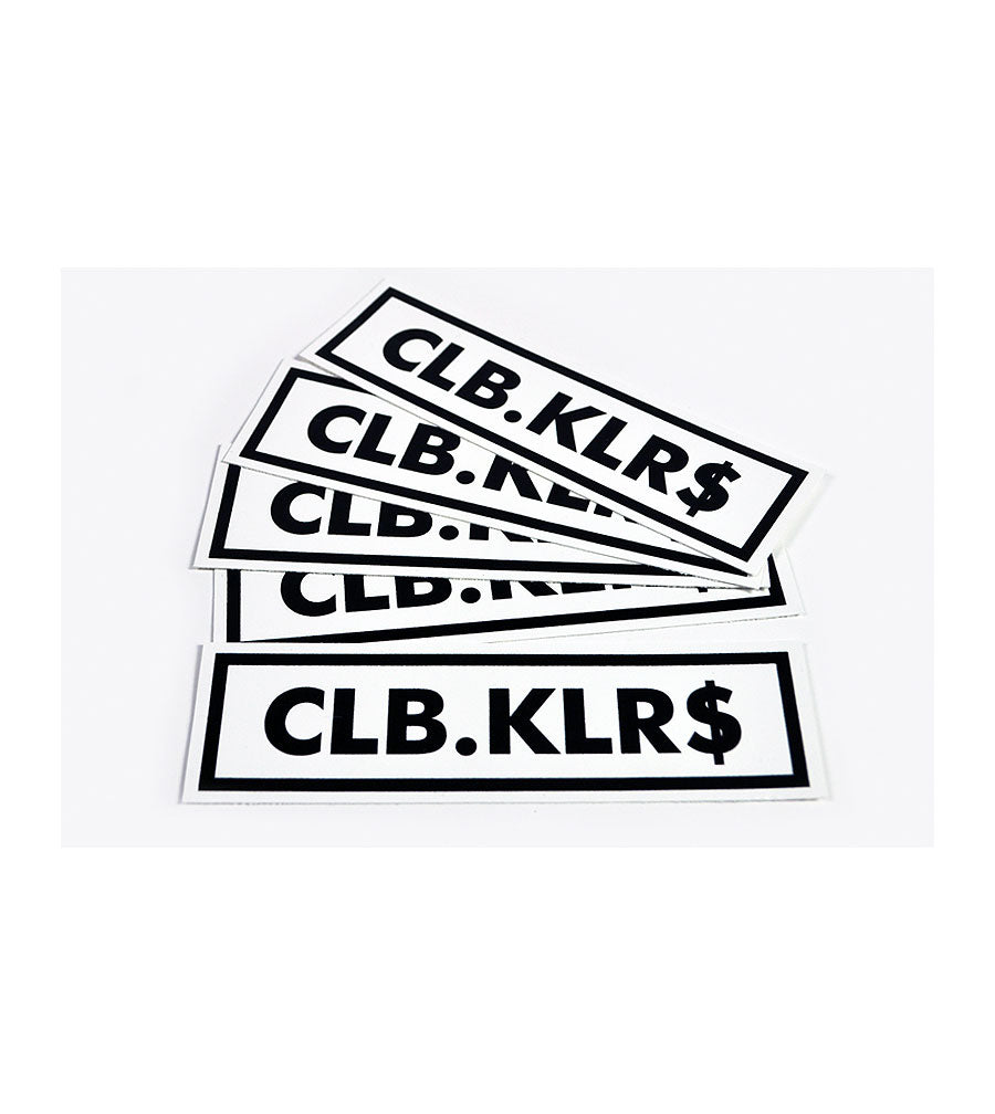 Club Killers - CLB KLR$ Sticker 5 Pack